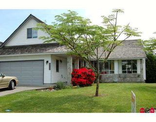 "Photo 1: 18610 62ND Avenue in Surrey: Cloverdale BC House for sale in ""EAGLE CREST"" (Cloverdale)  : MLS®# F2714523"