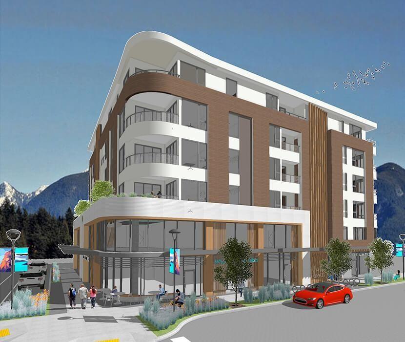 Main Photo: 301 1365 VICTORIA Street in Squamish: Downtown SQ Condo for sale : MLS®# R2624521