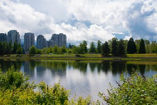 "Photo 42: 406 3065 PRIMROSE Lane in Coquitlam: North Coquitlam Condo for sale in ""LAKESIDE TERRACE"" : MLS®# R2381965"