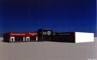 Photo 1: D-G 609 Carlton Trail in North Battleford: Yellow Sky Commercial for lease : MLS®# SK867839
