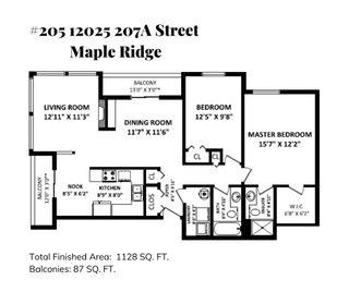 """Photo 13: 205 12025 207A Street in Maple Ridge: Northwest Maple Ridge Condo for sale in """"ATRIUM"""" : MLS®# R2472173"""