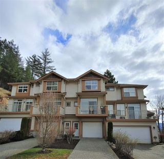 "Photo 1: 95 35287 OLD YALE Road in Abbotsford: Abbotsford East Townhouse for sale in ""The Falls"" : MLS®# R2555257"