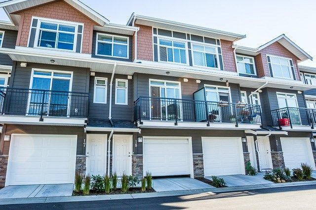 Main Photo: 18 11461 236 STREET in : Cottonwood MR Townhouse for sale : MLS®# R2103720