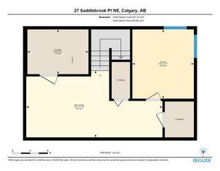 Photo 43: 27 Saddlebrook Place NE in Calgary: Saddle Ridge Semi Detached for sale : MLS®# A1122360