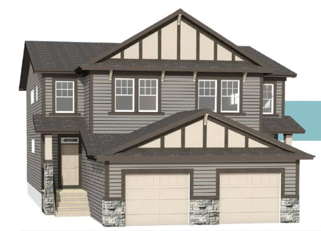 Main Photo: 167 Heritage Heights: Cochrane Semi Detached for sale : MLS®# A1058130