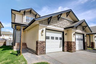 Main Photo: 20 Alberts Close: Red Deer Semi Detached for sale : MLS®# A1111102