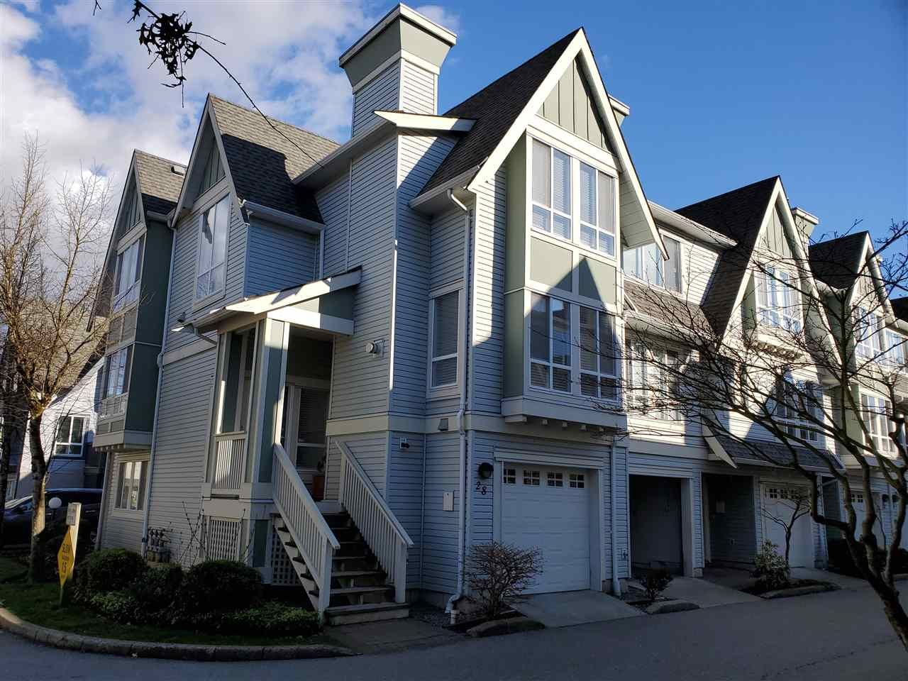 """Main Photo: 28 16388 85 Avenue in Surrey: Fleetwood Tynehead Townhouse for sale in """"CAMELOT"""" : MLS®# R2555638"""