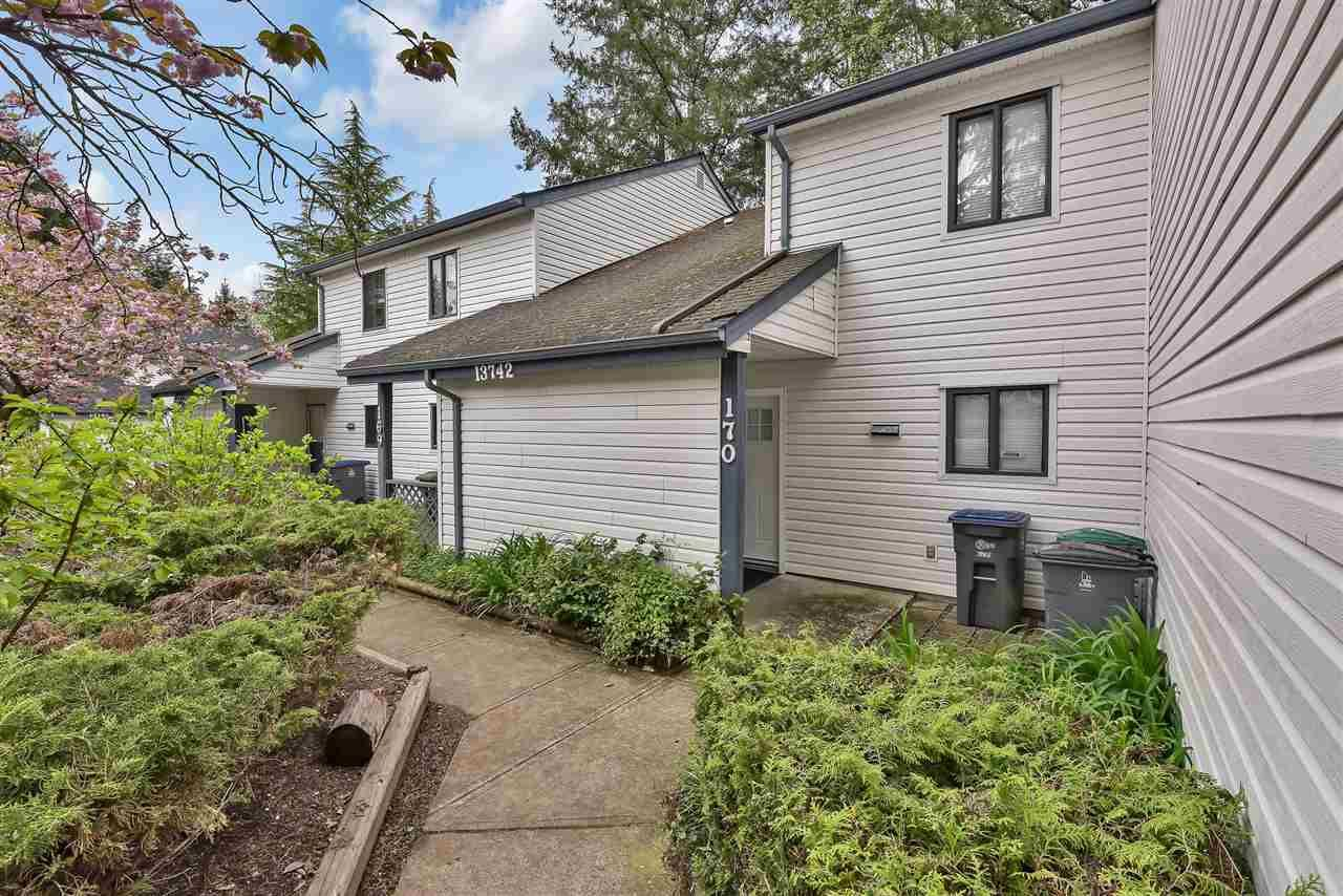 "Main Photo: 170 13742 67 Avenue in Surrey: East Newton Townhouse for sale in ""Hyland Creek"" : MLS®# R2563805"
