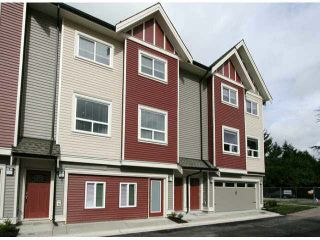 """Photo 1: 3 14177 103 Avenue in Surrey: Whalley Townhouse for sale in """"THE MAPLE"""" (North Surrey)  : MLS®# F1425574"""