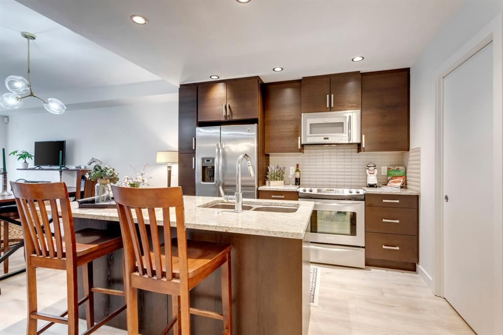 Photo 3: Photos: 105 1730 5A Street SW in Calgary: Cliff Bungalow Apartment for sale : MLS®# A1075033