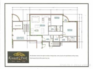 Photo 1: 403 177 KENNETH STREET in DUNCAN: Z3 West Duncan Condo/Strata for sale (Zone 3 - Cowichan Valley)  : MLS®# 395113