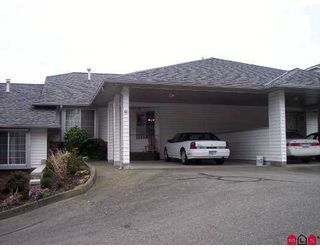 "Photo 1: 3055 TRAFALGAR Street in Abbotsford: Central Abbotsford Townhouse for sale in ""Glenview Meadows"" : MLS®# F2706423"