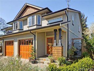 Photo 1: 2520 Cedar Hill Rd in VICTORIA: Vi Oaklands Half Duplex for sale (Victoria)  : MLS®# 697951