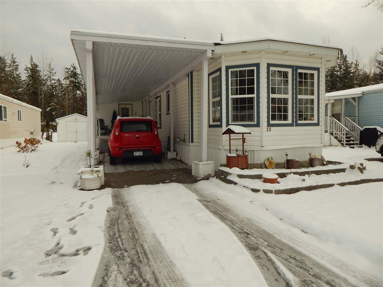 Main Photo: 28 1000 INVERNESS ROAD in : Aberdeen PG Manufactured Home for sale : MLS®# R2321871