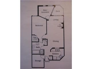 """Photo 6: # 303 3621 W 26TH AV in Vancouver: Dunbar Condo for sale in """"DUNBAR HOUSE"""" (Vancouver West)  : MLS®# V952567"""