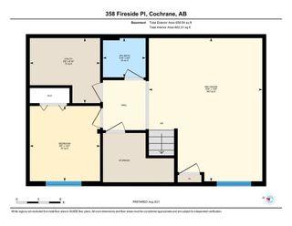 Photo 45: 358 Fireside Place: Cochrane Detached for sale : MLS®# A1139754