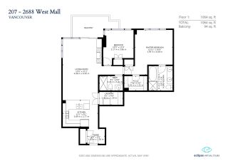 """Photo 13: 207 2688 WEST Mall in Vancouver: University VW Condo for sale in """"Promontory"""" (Vancouver West)  : MLS®# R2554955"""