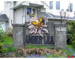 "Photo 7: 11 7640 BLOTT Street in Mission: Mission BC Townhouse for sale in ""AMBERLEA"" : MLS®# F2709323"