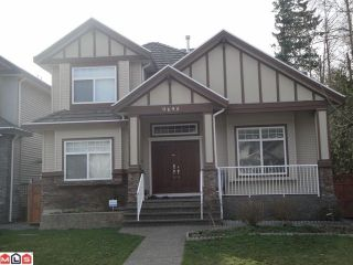 Photo 1: 9695 160A ST in Surrey: Fleetwood Tynehead House for sale : MLS®# F1209496