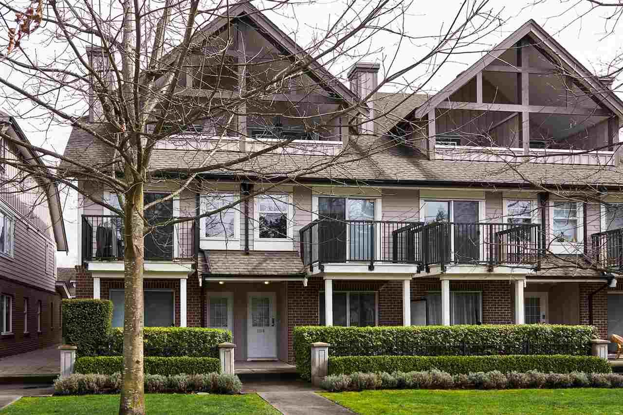 Main Photo: 106 2780 ACADIA Road in Vancouver: University VW Townhouse for sale (Vancouver West)  : MLS®# R2045967