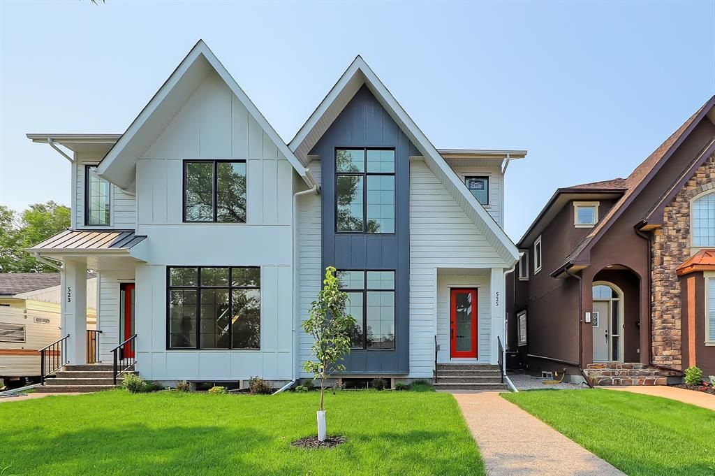 Main Photo: 525 34A Street NW in Calgary: Parkdale Semi Detached for sale : MLS®# A1055557