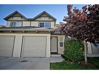 Photo 1: 134 EVERSTONE Place SW in CALGARY: Evergreen Townhouse for sale (Calgary)  : MLS®# C3636844