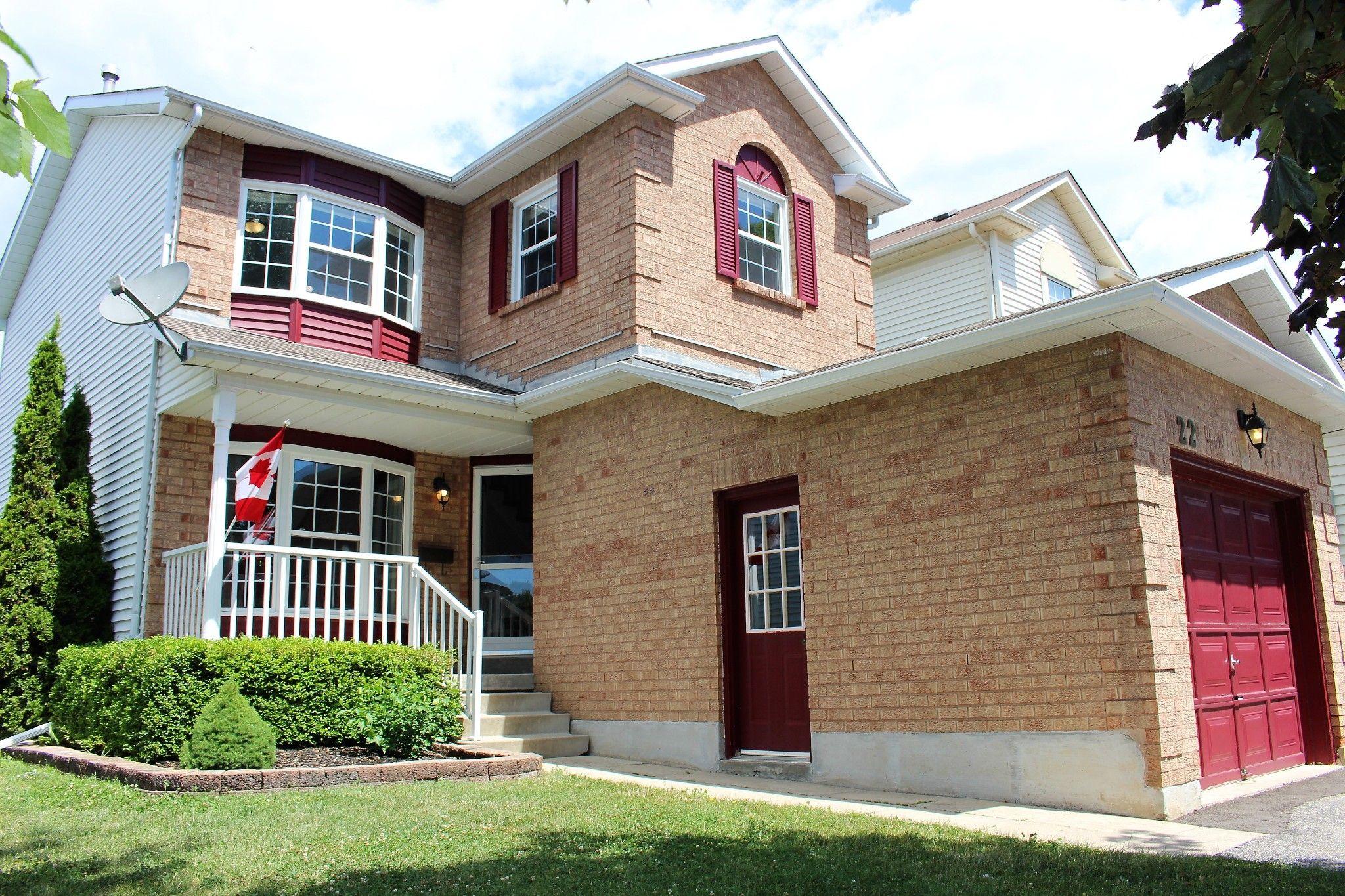 Main Photo: 22 Burnham Boulevard in Cobourg: House for sale : MLS®# 275167