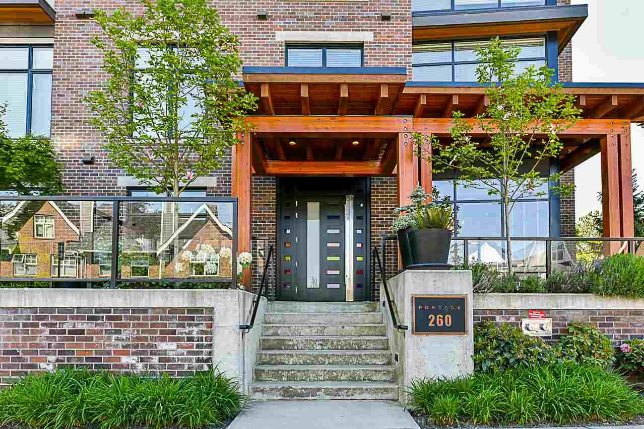 """Main Photo: 304 260 SALTER Street in New Westminster: Queensborough Condo for sale in """"Portage"""" : MLS®# R2265061"""