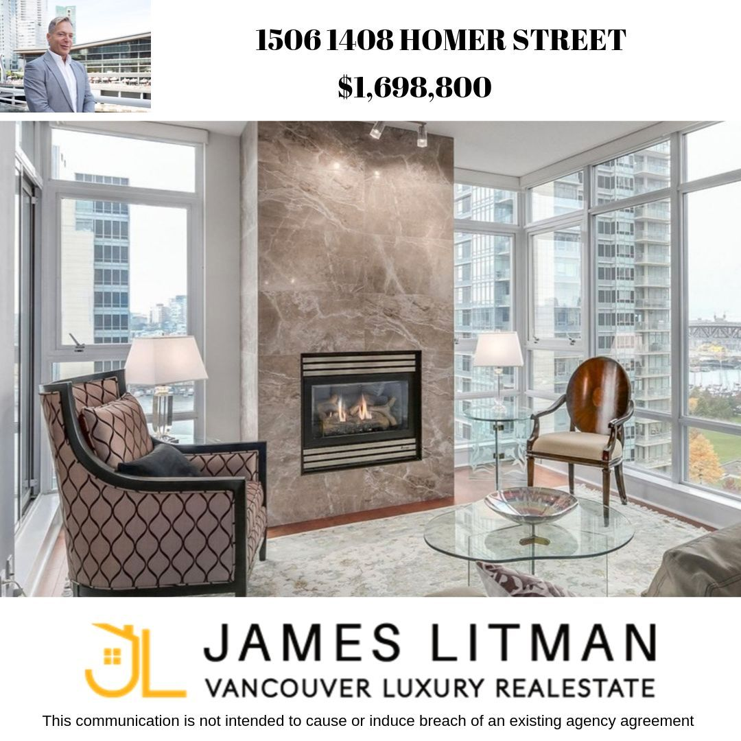 Main Photo: 1506 1408 Homer Street in Vancouver: Condo for sale : MLS®# R2232330