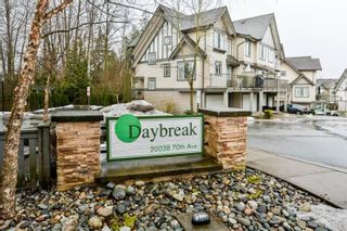 """Photo 1: 78 20038 70 Avenue in Langley: Willoughby Heights Townhouse for sale in """"Daybreak"""" : MLS®# R2313306"""