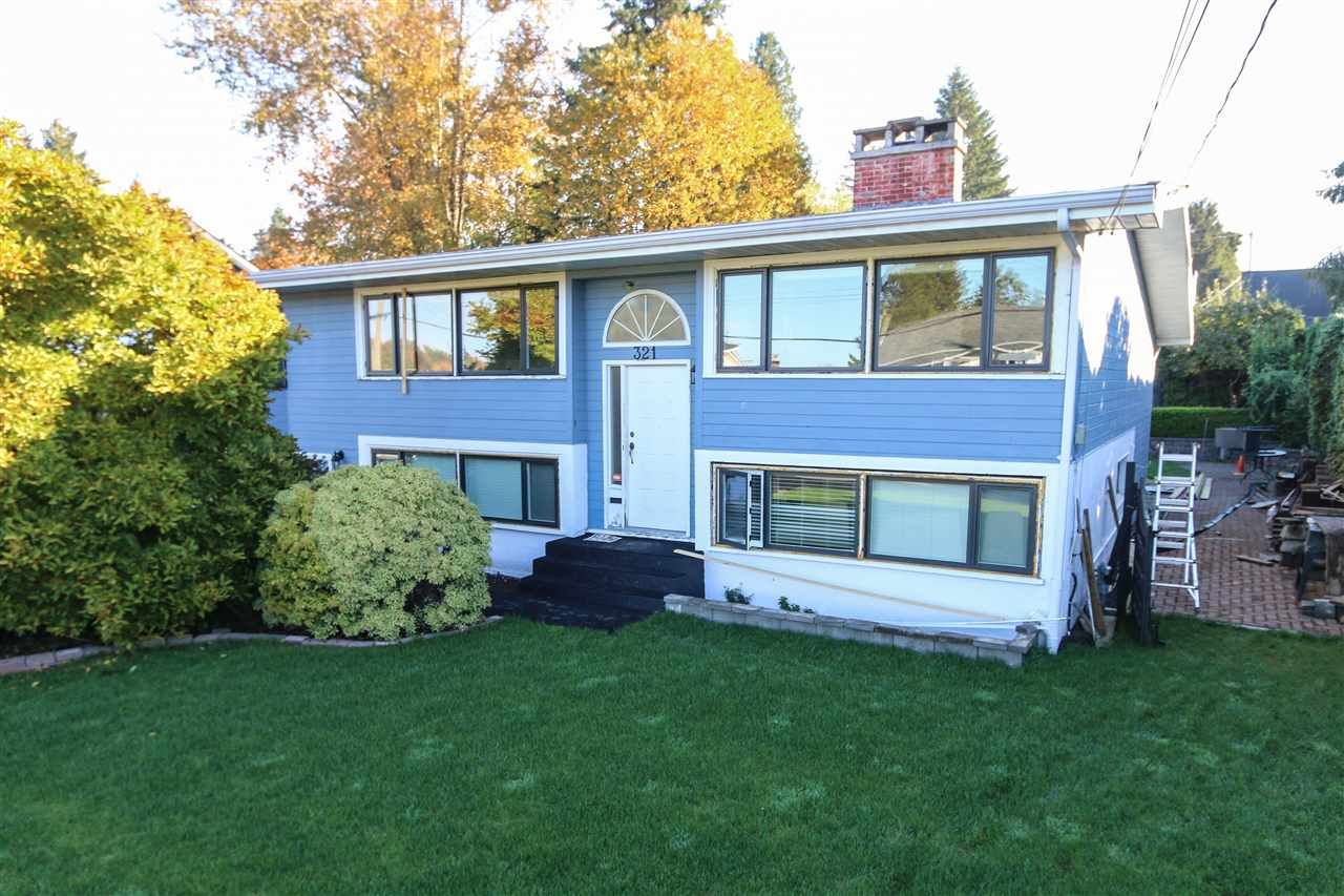 Main Photo: 321 LEROY STREET in Coquitlam: Central Coquitlam House for sale : MLS®# R2223407
