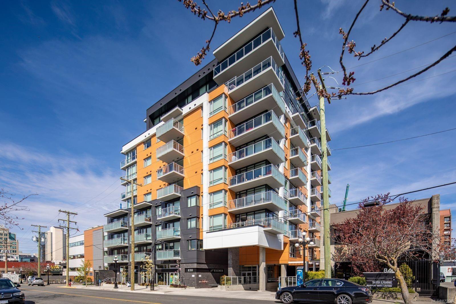 Main Photo: 405 838 Broughton St in : Vi Downtown Condo for sale (Victoria)  : MLS®# 872648
