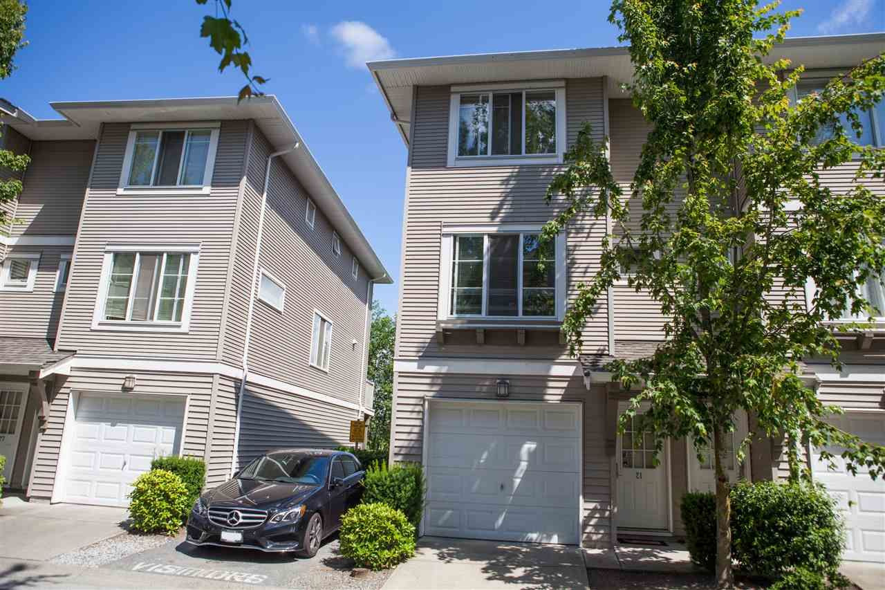 "Main Photo: 21 15155 62A Avenue in Surrey: Sullivan Station Townhouse for sale in ""OAKLANDS"" : MLS®# R2187131"