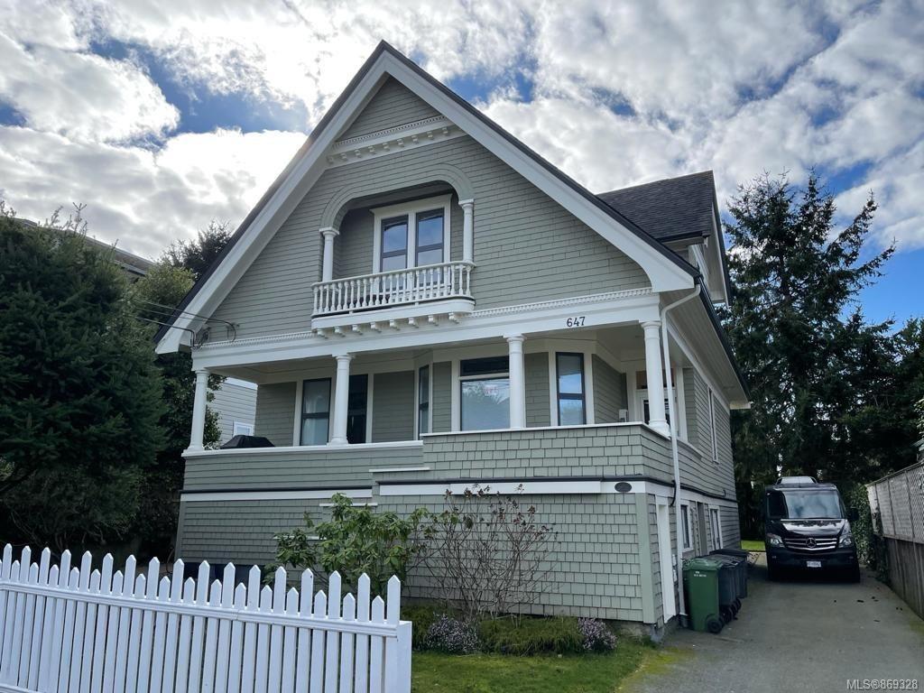 Main Photo: 647 Niagara St in : Vi James Bay Multi Family for sale (Victoria)  : MLS®# 869328