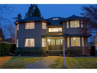 "Photo 1: 4377 VALLEY DR in Vancouver: Quilchena House for sale in ""Quilchena"" (Vancouver West)  : MLS®# V1042736"