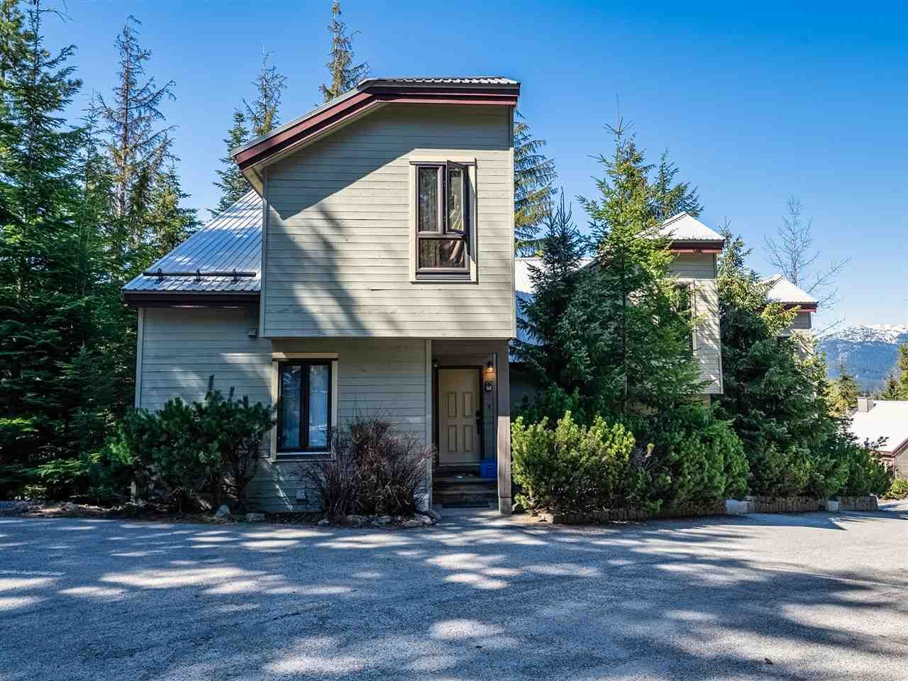 Main Photo: 32 6125 EAGLE DRIVE in Whistler: Whistler Cay Heights Townhouse for sale : MLS®# R2570202