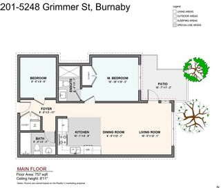 Photo 4: 201 5248 GRIMMER Street in Burnaby: Metrotown Condo for sale (Burnaby South)  : MLS®# R2526856