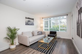 """Photo 1: 204 2525 CLARKE Street in Port Moody: Port Moody Centre Condo for sale in """"THE STRAND"""" : MLS®# R2545732"""