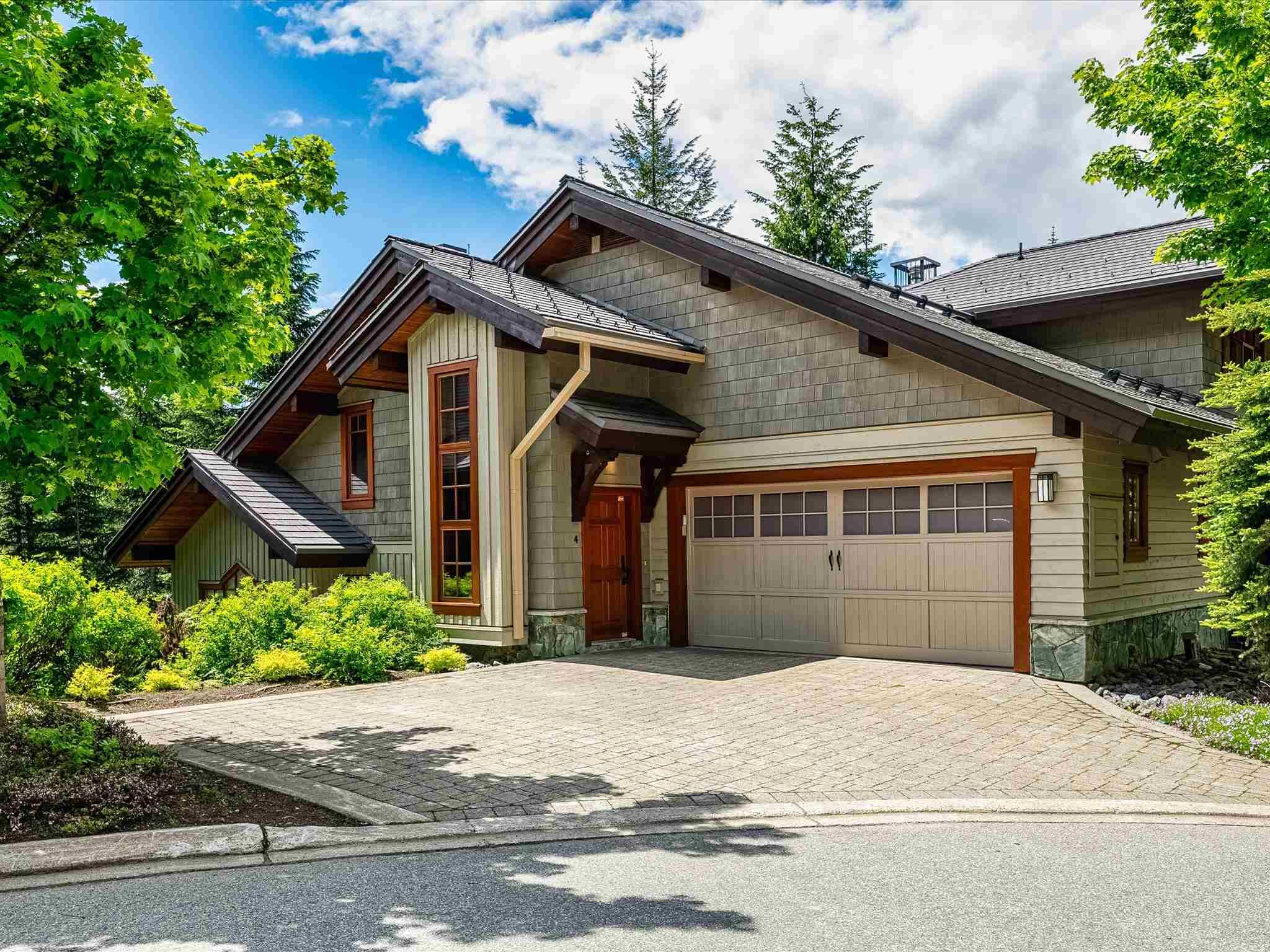 Photo 1: Photos: 4 2500 TALUSWOOD PLACE in Whistler: Nordic Townhouse for sale : MLS®# R2593995