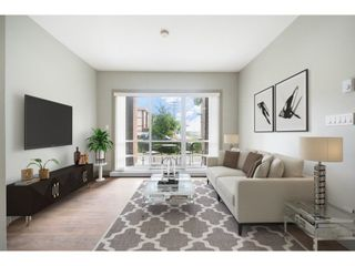 """Photo 1: 108 6875 DUNBLANE Avenue in Burnaby: Metrotown Condo for sale in """"SUBORA LIVING"""" (Burnaby South)  : MLS®# R2611213"""