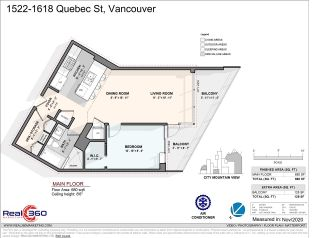 """Photo 19: 1522 1618 QUEBEC Street in Vancouver: Mount Pleasant VE Condo for sale in """"Central"""" (Vancouver East)  : MLS®# R2521137"""