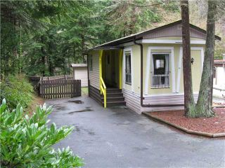 "Photo 1: 23 3295 SUNNYSIDE Road: Anmore Manufactured Home for sale in ""COUNTRYSIDE VILLAGE"" (Port Moody)  : MLS®# V931621"