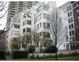 Photo 1: 503 1042 NELSON ST in Vancouver: House for sale (West End VW)  : MLS®# V622002