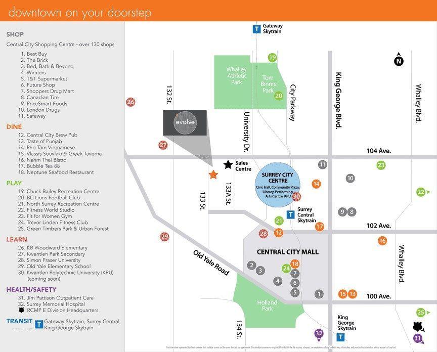 "Main Photo: 1312 13308 103A Avenue in Surrey: Whalley Condo for sale in ""Evolve"" (North Surrey)  : MLS®# R2219285"