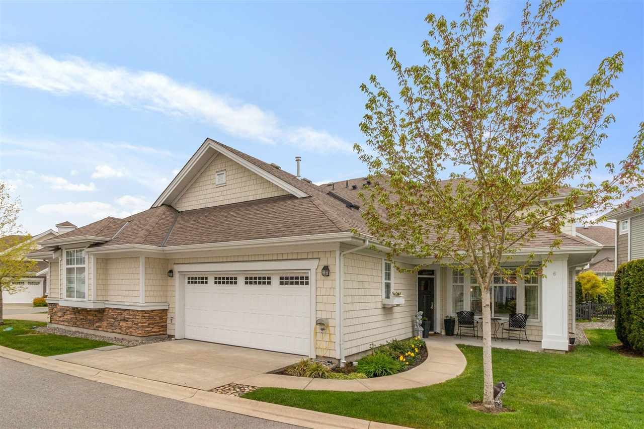 """Main Photo: 6 10500 DELSOM Crescent in Delta: Nordel Townhouse for sale in """"LAKESIDE"""" (N. Delta)  : MLS®# R2572992"""