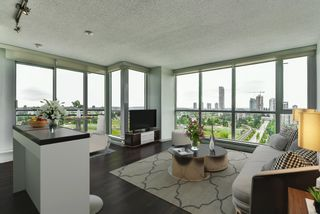 """Photo 2: 2202 10777 UNIVERSITY Drive in Surrey: Whalley Condo for sale in """"CITY POINT"""" (North Surrey)  : MLS®# R2564095"""