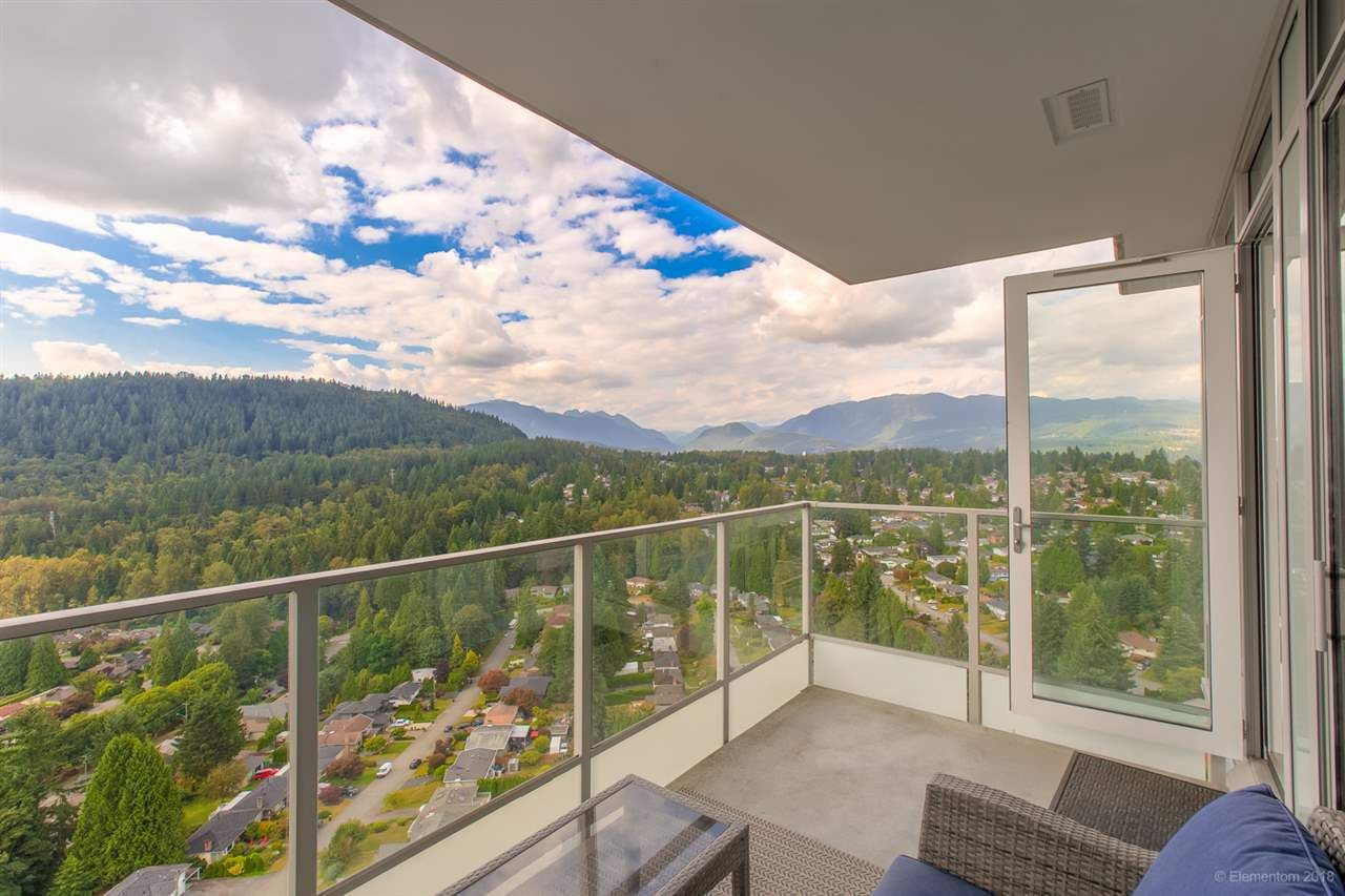 """Photo 5: Photos: 2603 520 COMO LAKE Avenue in Coquitlam: Coquitlam West Condo for sale in """"THE CROWN"""" : MLS®# R2483945"""