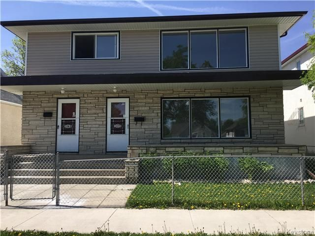 Main Photo: 1068 Burrows Avenue in Wpg: Multi-family for sale : MLS®# 1714266
