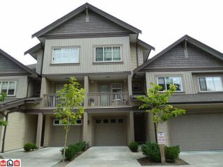 Photo 1: 22 6238 192 STREET in Surrey: Cloverdale BC Townhouse for sale (Cloverdale)  : MLS®# R2049428