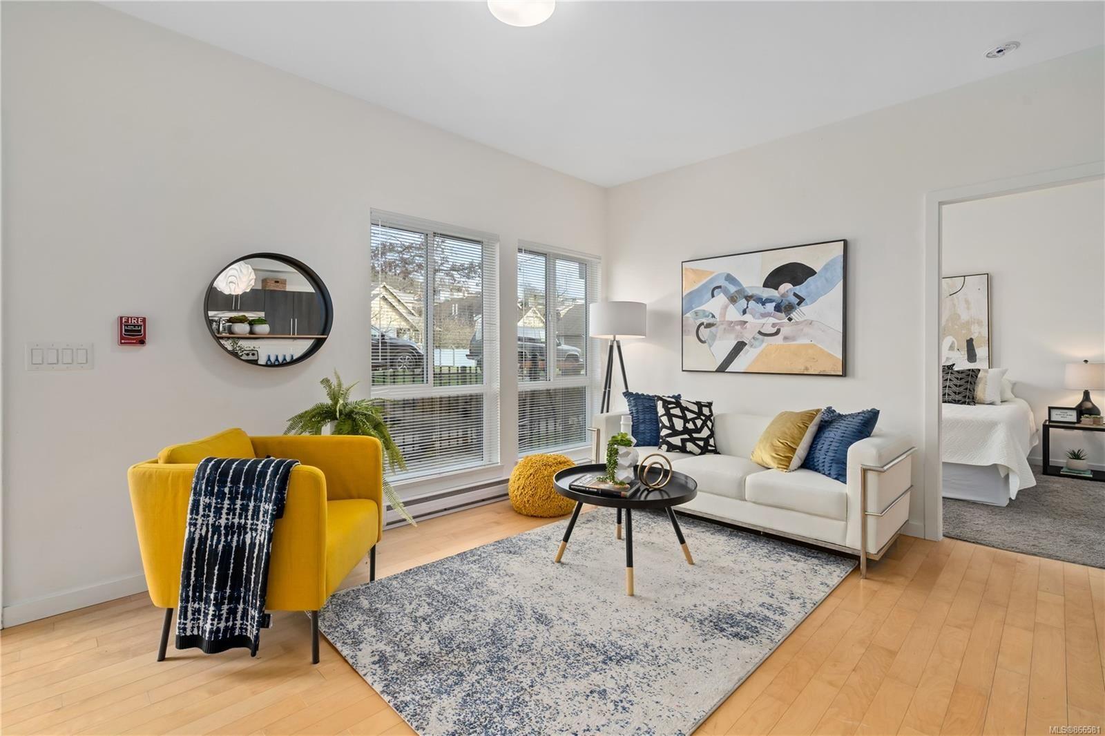 Main Photo: 104 4050 Douglas St in : SE Swan Lake Condo for sale (Saanich East)  : MLS®# 866581